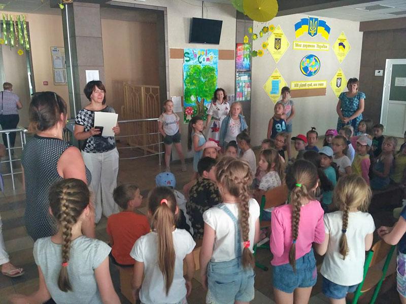 01 червня 2018 рокурозпочав роботу табір з денним перебуванням «School Camp»