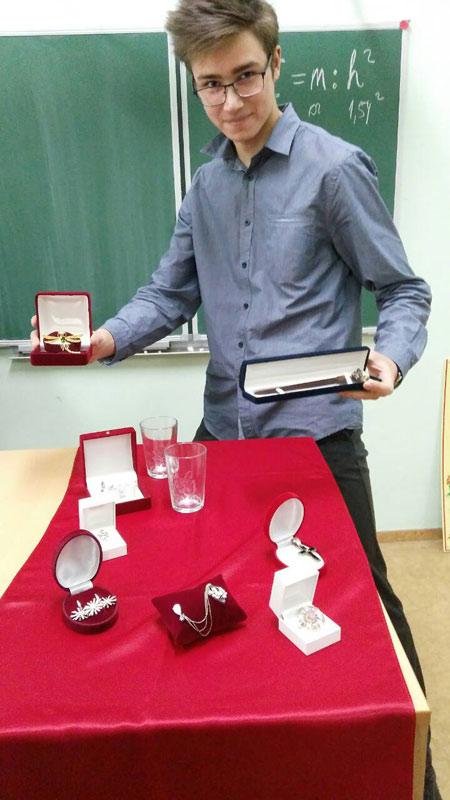 Майстер-клас для учнiв 10-х класiв з ювелiрного мистецтва