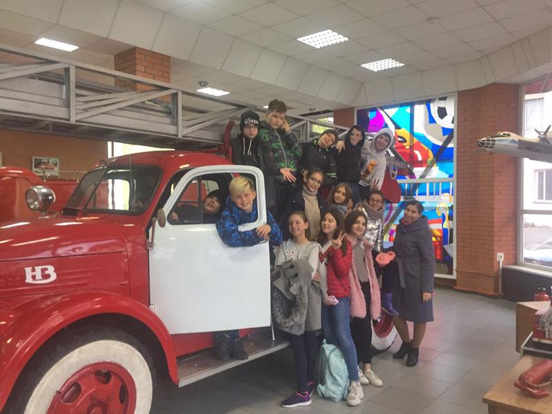 Відвідування музею історії пожежної справи