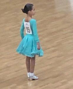 Вітаємо ученицю 2Б класу Абрамову Іларію з призовим місцем на конкурсі бальних танців «Ритми Печерська 2019»