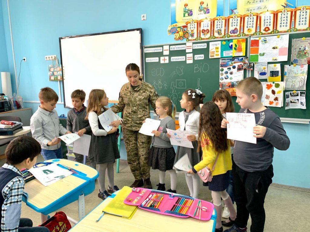 В 2Б класі пройшов цікавий урок за темою : « Екологічні проблеми України»