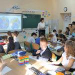 Інтегрований урок (математики, природознавства) «Письмове додавання багатоцифрових чисел, розв'язання задач за допомогою рівнянь. Природа океанів»