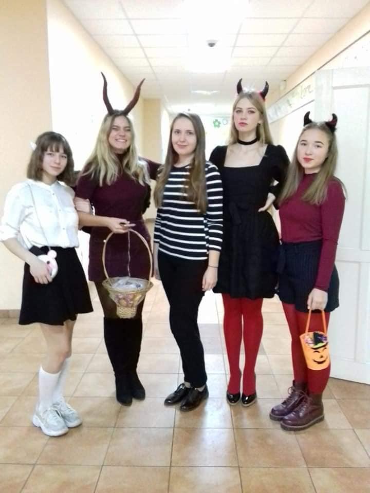 """Урок-гра на тему: """"Halloween party"""""""